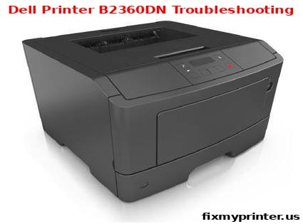 dell printer b2360dn troubleshooting