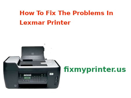 how to fix my lexmark printer