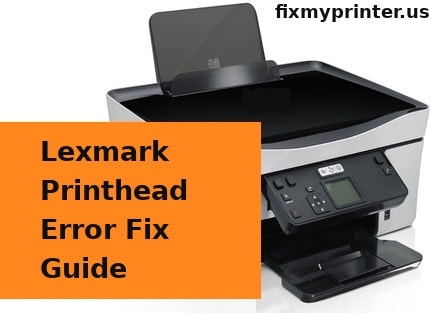 lexmark printhead error fix