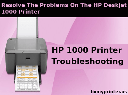 hp 1000 printer troubleshooting