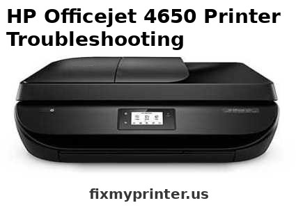 hp 4650 printer troubleshooting