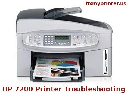 hp 7200 printer troubleshooting