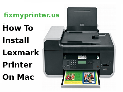 how to install lexmark printer on mac