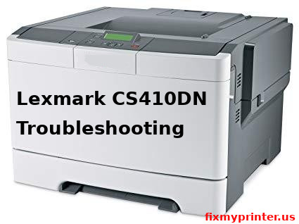 lexmark cs410dn troubleshooting