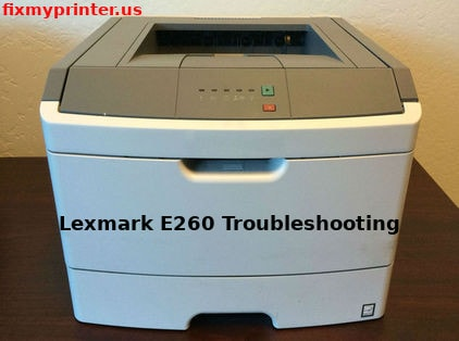 lexmark e260 troubleshooting