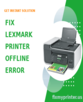 Lexmark Printer Offline Error