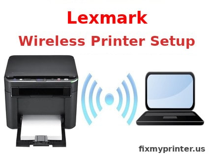 lexmark wireless printer setup