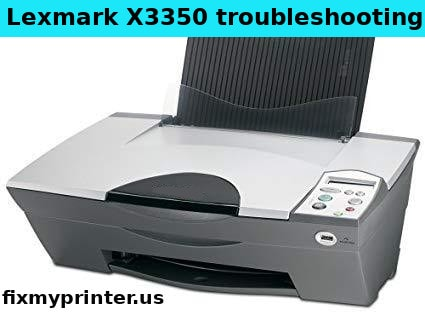 lexmark x3350 printer troubleshooting