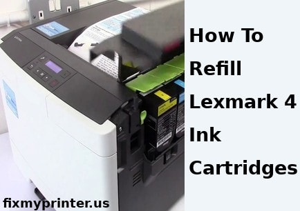 how to refill lexmark 4 ink cartridges