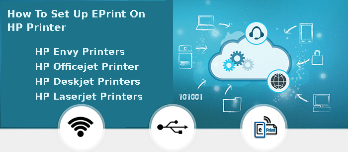 how to set up eprint on hp printer