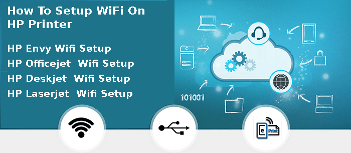 how to setup wifi on hp printer
