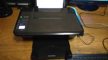 how to connect hp Deskjet 3050 to wifi