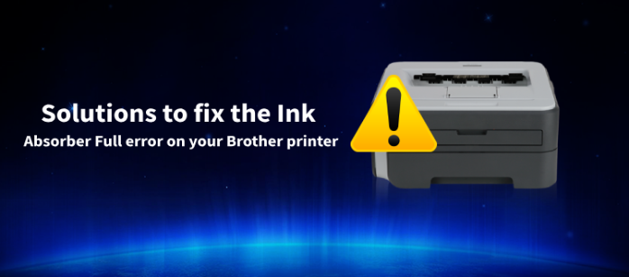 Brother Printer Troubleshooting Ink Absorber Full