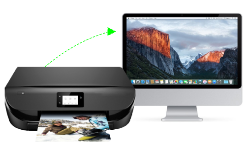 How To Connect Hp Envy 5070 To Mac