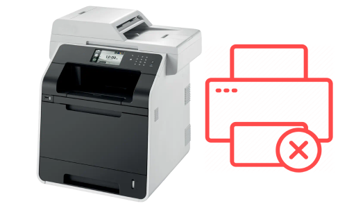 Brother MFC L8850CDW Not Printing