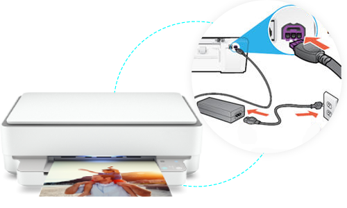 HP ENVY 6000 Printer Setup
