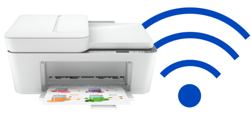 How To Connect Hp Deskjet Plus 4155 To Wifi